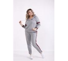 Светло-серый спортивный костюм КККX0063-01473-3