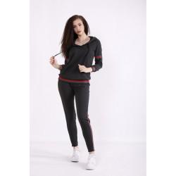 Темно-серый спортивный костюм КККX0065-01473-1