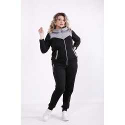 Черный спортивный костюм КККX0066-01472-3