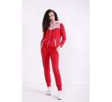 Красный спортивный костюм КККX0068-01472-1
