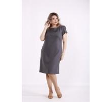 Темно-серое платье КККX0010-01494-3