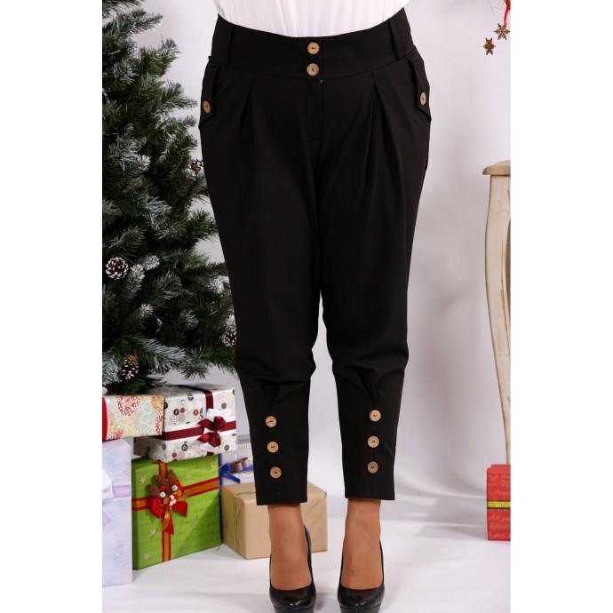 Черные модные брюки ККК122-b033-2