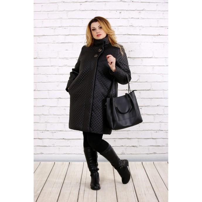 Стеганное пальто ККК163-t0724-1