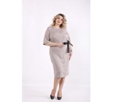 Пудровое платье ККК99914-01423-2