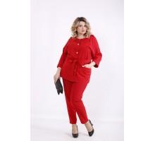 Красный костюм ККК99920-01421-2