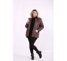 Коричневая стеганая куртка ККК99922-t01420-3