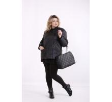 Черная стеганая куртка ККК99923-t01420-2