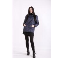 Синяя куртка из плащевки ККК99924-t01420-1
