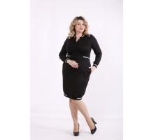 Черное платье ККК99933-01417-1