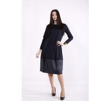 Темно-синее платье ККК99942-01414-1