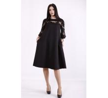 Черное платье ККК99948-01412-1