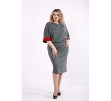Зеленое платье ККК99964-01406-3