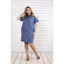 Платье с принтом штрих ККК1912-0770-2