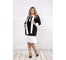 Черное красивое платье ККК1943-0759-1