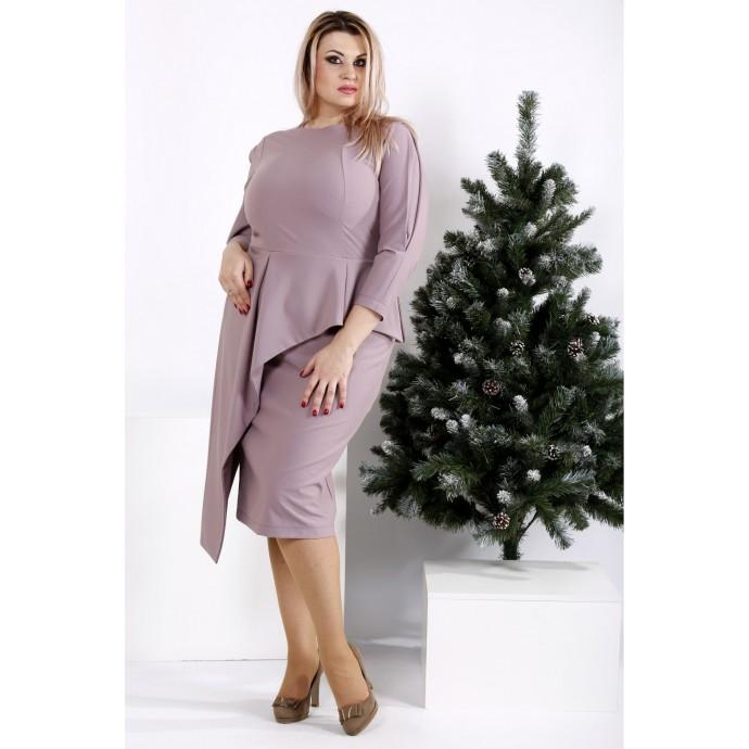 Бисквитное деловое платье ККК2019-0965-3