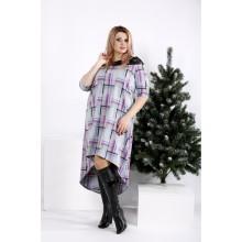 Платье в малиновую клетку ККК2029-0962-2