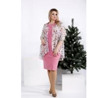 Платье фрезия с шифоном ККК2040-0958-3