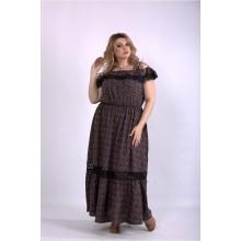Длинное скрывающее платье ККК33315-01161-1