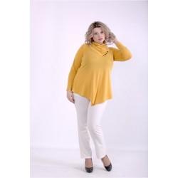 Оранжевая блузка ККК88813-01403-3