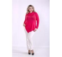 Коралловая блузка ККК88814-01403-2