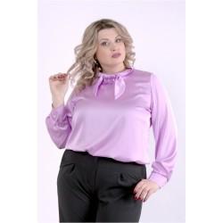 Сиреневая блузка ККК88817-01402-2
