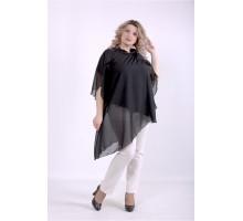 Черная блузка ККК88821-01401-1