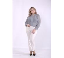 Серая блузка ККК88822-01400-3