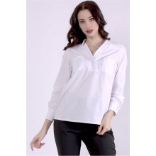 Белая блузка ККК88827-01399-1