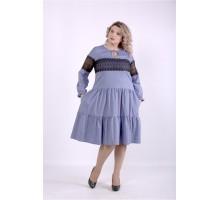 Синее платье ККК88834-01396-3