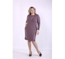 Платье баклажан ККК88843-01393-3