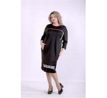 Черное платье ККК88847-01392-2
