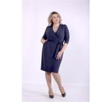 Синее платье ККК88854-01390-1