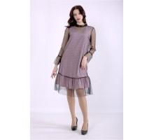 Платье фрезия с сеткой ККК88866-01386-1