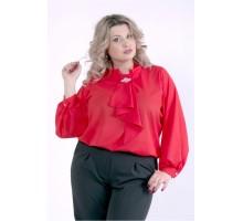 Красная блузка ККК88810-01404-3