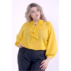 Оранжевая блузка ККК88811-01404-2