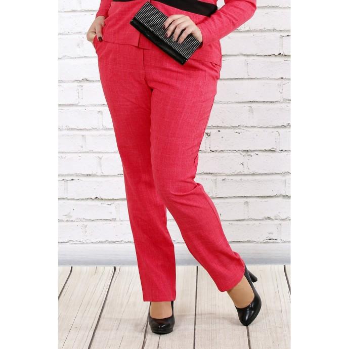 Малиновые брюки ККК1715-0704-1-2