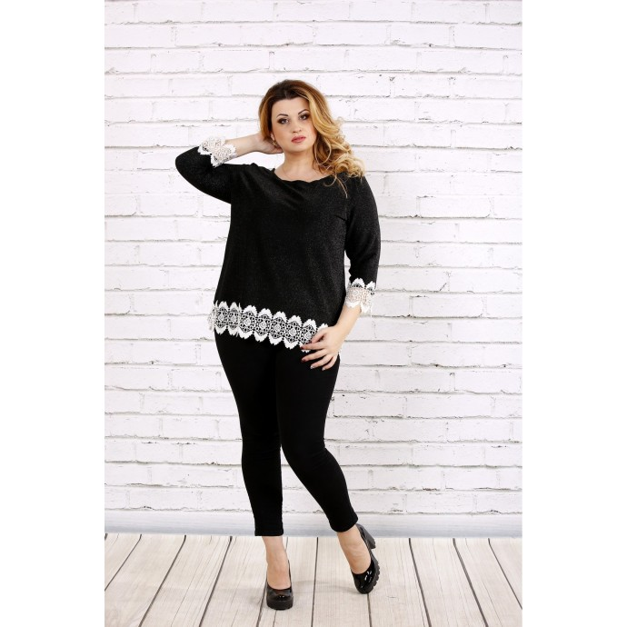 Темная блузка ККК1742-0696-1
