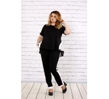 Черный костюм ККК1727-0701-1