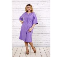 Сиреневое платье по колено ККК1746-0694-3