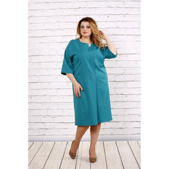 Бирюзовое платье ККК1748-0694-1