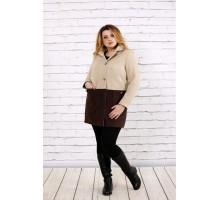 Коричневое кашемировое пальто ККК1750-t0692-2