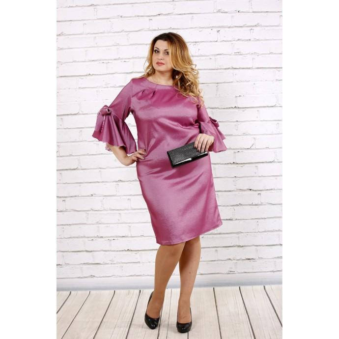 Шикарное платье цвета фрезия ККК1711-0705-2