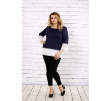 Синяя блузка ККК1761-0676-3