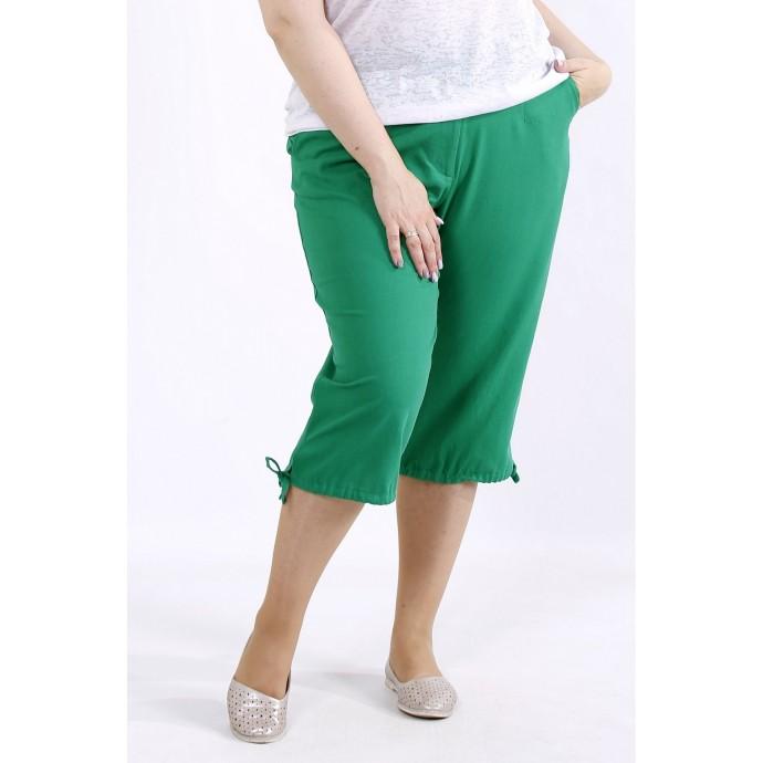 Зеленые легкие капри ККК4445-b060-4