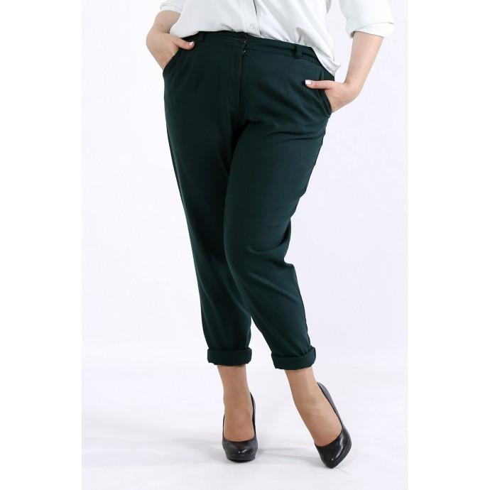 Зеленые летние брюки ККК4449-b055-3