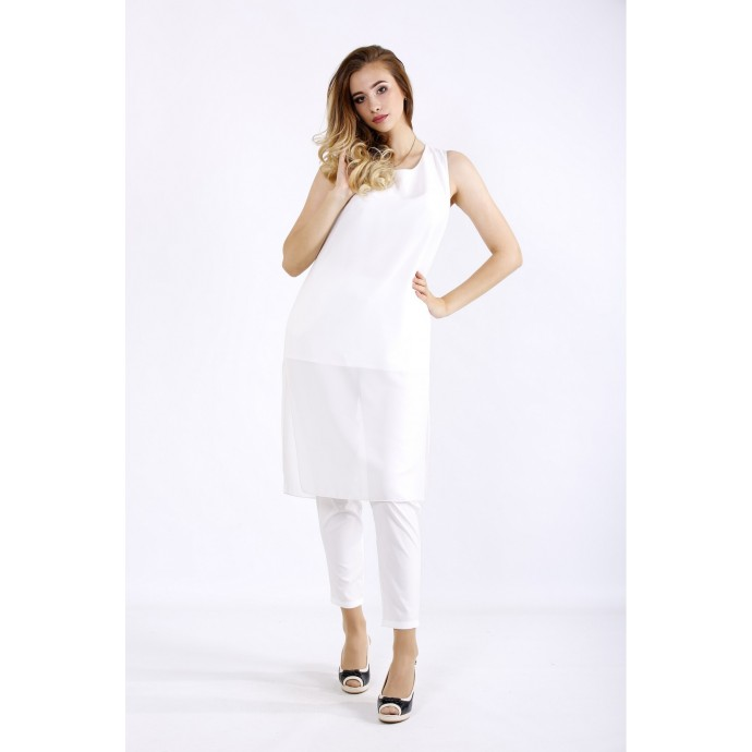 Летний костюм молоко ККК5553-01227-1