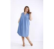 Свободное джинсовое платье ККК55549-01208-1
