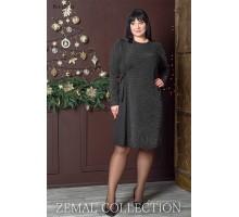 Платье с шифоновой вставкой топs3-PL4-230