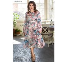 Платье с длинным рукавом ТОП005-PL4-345-70