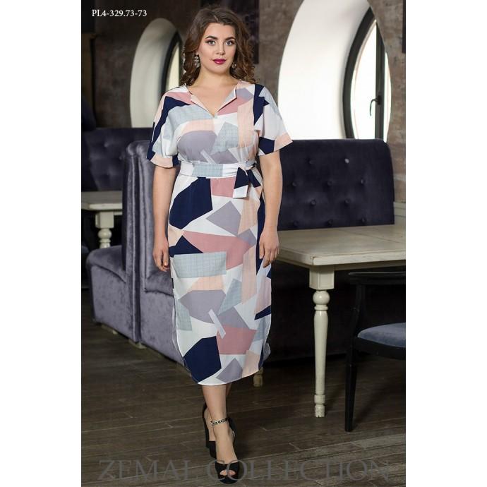 Платье с разрезами ТОП001-PL4-329-73